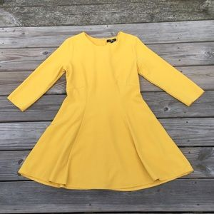 NWT Honey Punch dress Golden Yellow